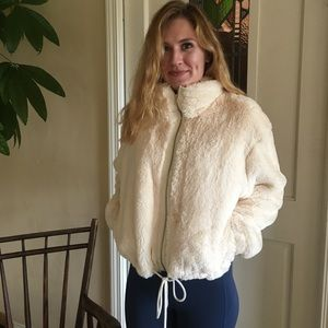Anthropologie Fuzzy Jacket